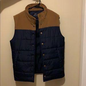 JCrew Men's puffer vest